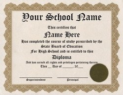 Ged Certificate Template Download Diploma Free Templates Clip Art & Wording