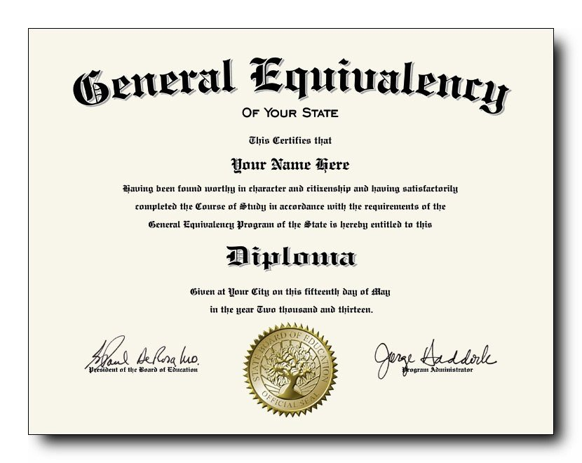 Ged Certificate Template Download How to Break the News with A Fake Ged Diploma Certificate
