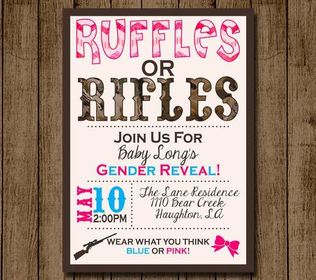 Gender Reveal Invitation Templates 15 Gender Reveal Invitations Printable Psd Ai Eps