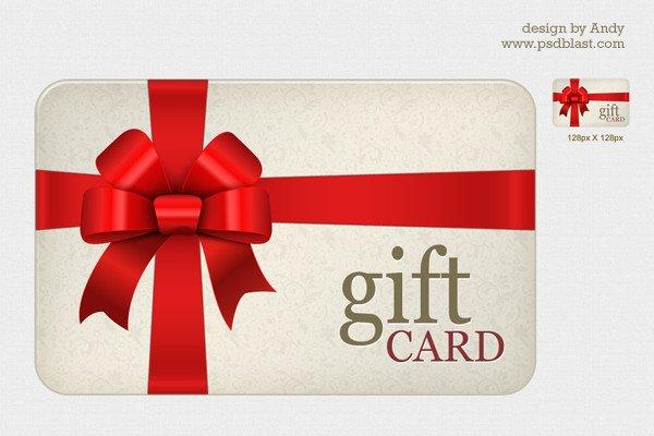 Gift Card Template Psd High Resolution Gift Card Psd