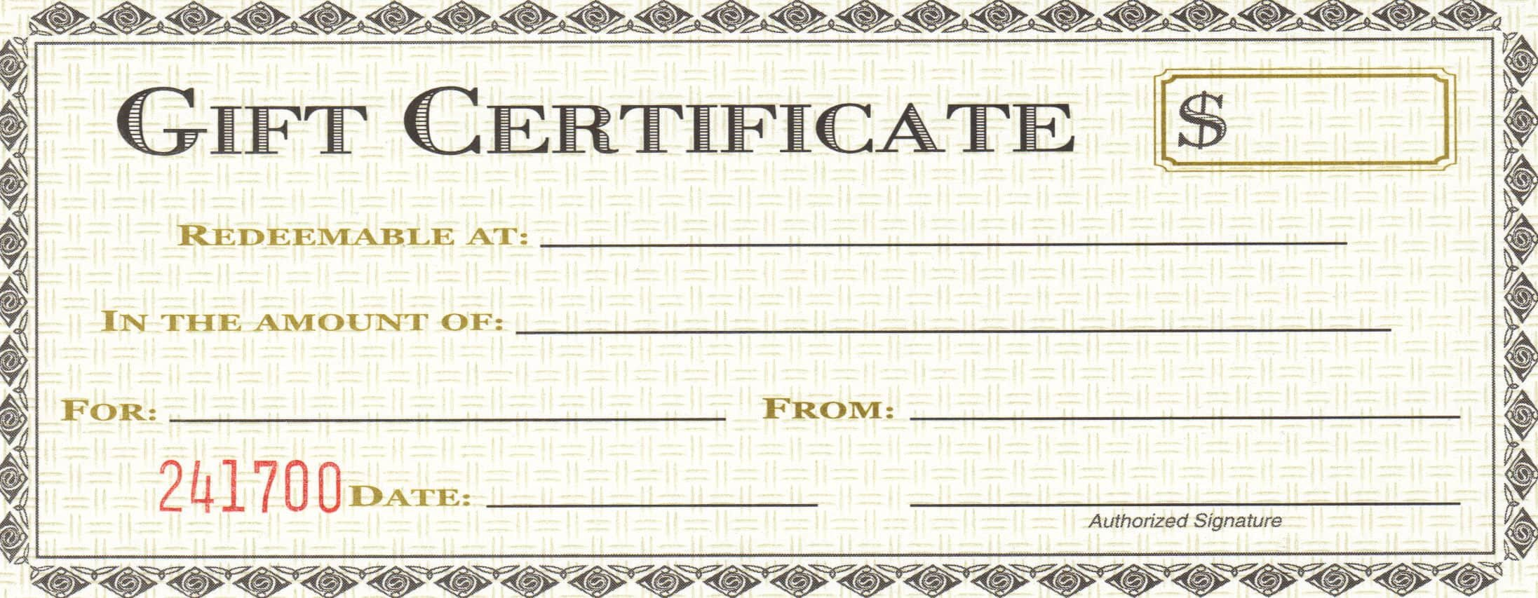 Gift Certificate Template Word 18 Gift Certificate Templates Excel Pdf formats