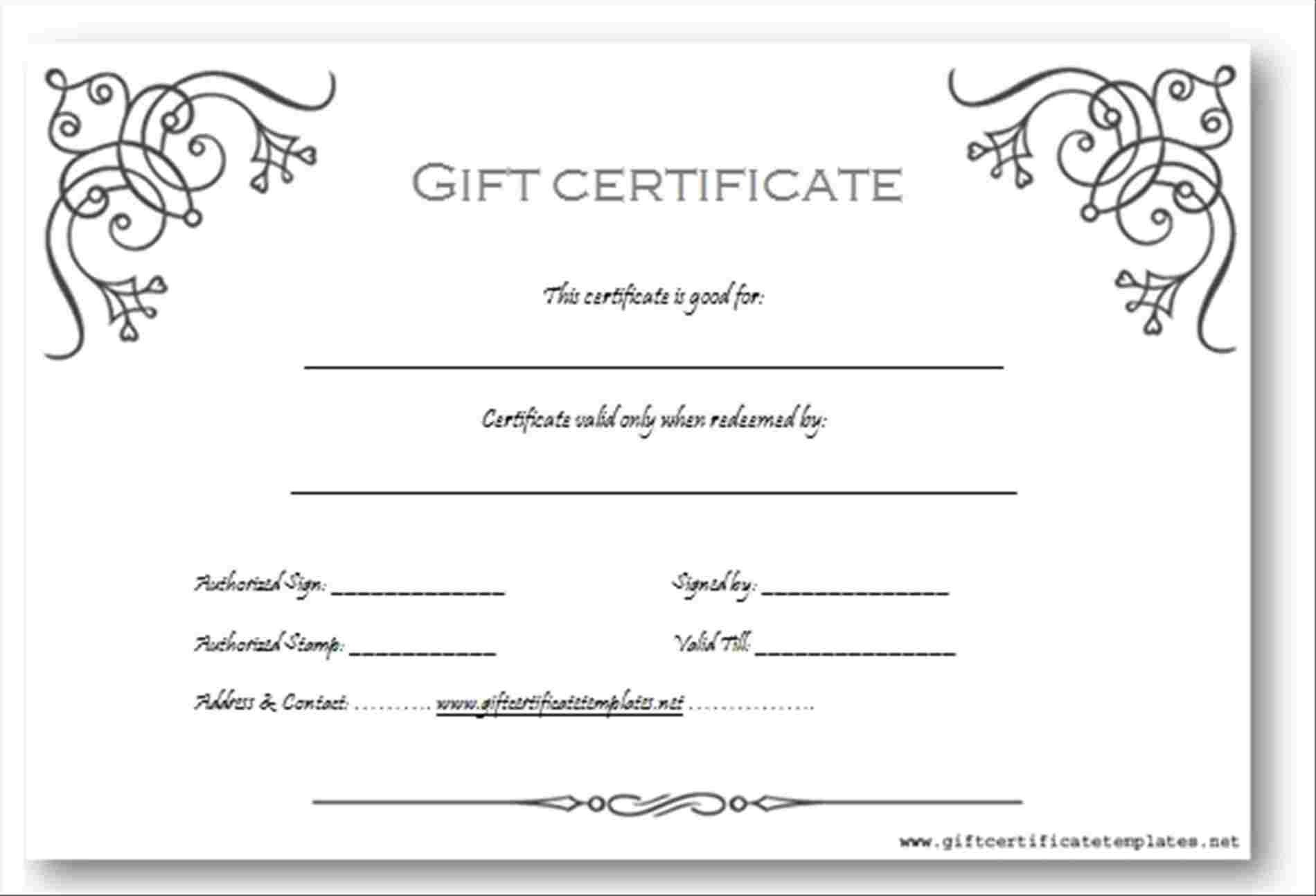 Gift Certificate Template Word Gift Voucher Templates Word Pics – Gift Voucher Template 3
