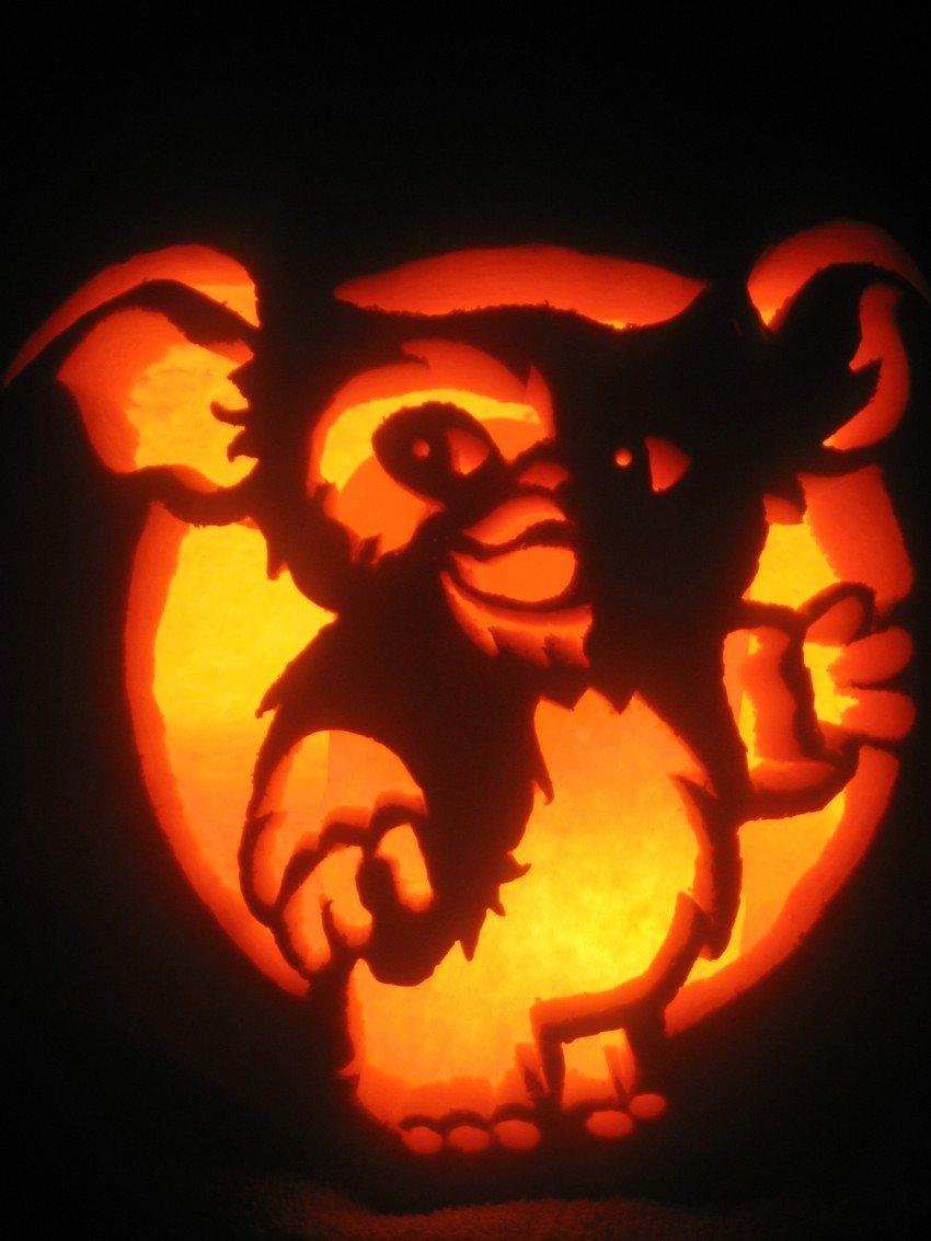 Gizmo Pumpkin Stencil Gizmo by Pumpkinmaster On Deviantart