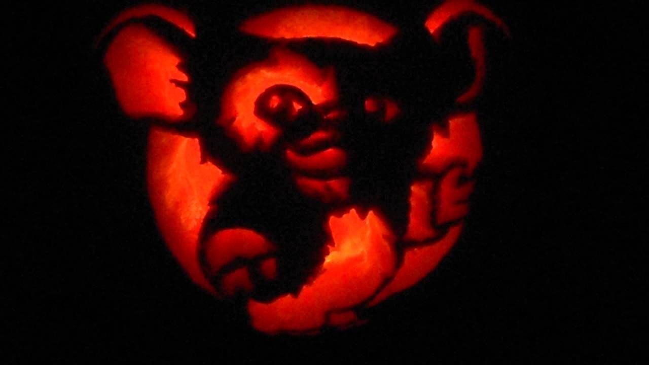 Gizmo Pumpkin Stencil Gizmo Gremlins Pumpkin Carving