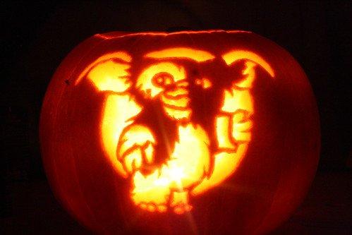 Gizmo Pumpkin Stencil Gizmo Pumpkin