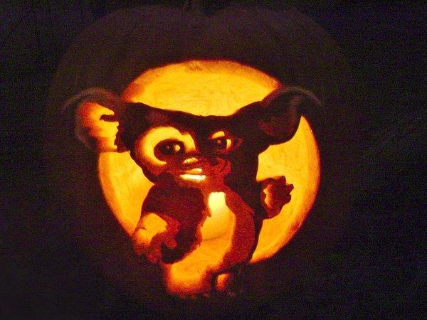 Gizmo Pumpkin Stencil Gizmo the Gremlin by Falconari On Deviantart