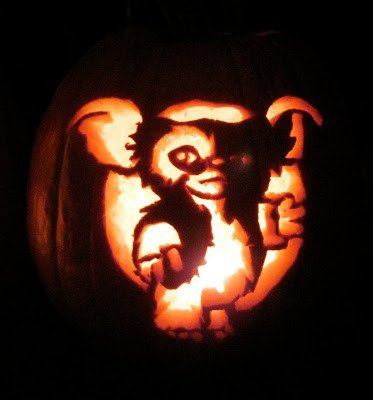 Gizmo Pumpkin Stencil Project Of the Week Pumpkin Carving Create Repeat