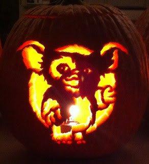 Gizmo Pumpkin Stencil Tarantino Ics Halloween 2012