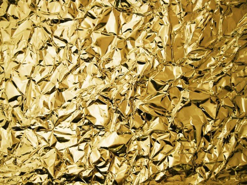 35 Gold Foil Textures