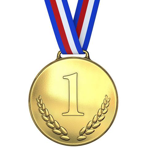 Gold Medal Printable Gold Medal 1st Place Prop