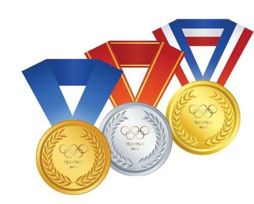 Gold Medal Printable Printable Olympic Medals Kids Art
