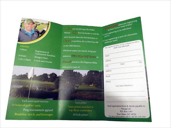 Golf tournament Flyer Template Golf tournament Brochure 20 Download In Vector Eps Psd