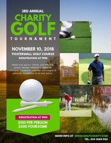 Golf tournament Flyer Templates Customize 200 Golf Poster Templates