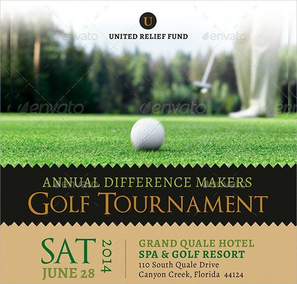 Golf tournament Flyer Templates Golf tournament Flyer Template 23 Download In Vector