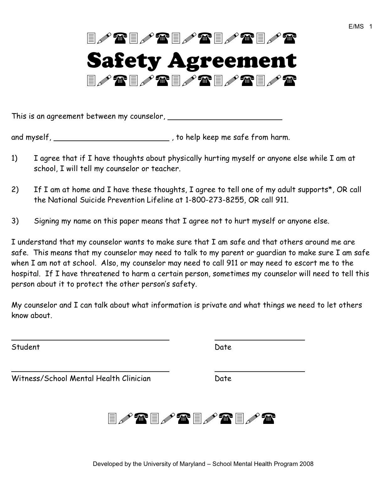 Good Faith Contract Template Template for Good Faith Contract Free software and