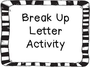 Goodbye Break Up Letter Help Me Write A Mature Goodbye Break Up Letter