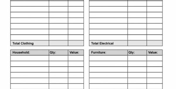 Goodwill Donation Excel Spreadsheet Spreadsheet Template Page 266 Monthly Financial Planning