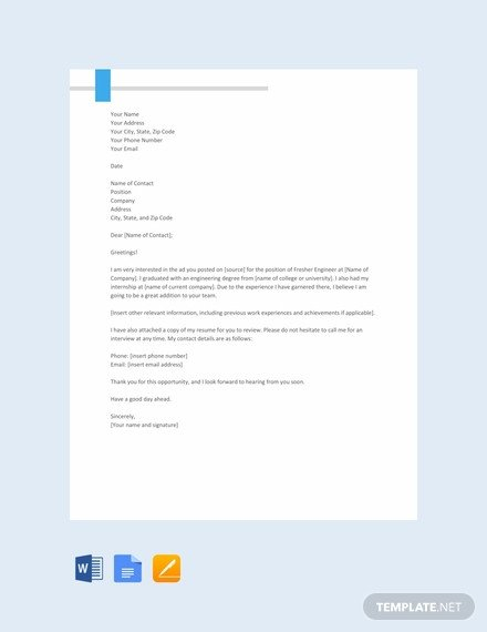 Google Docs Cover Letter Template 66 Free Cover Letter Templates In Google Docs [download