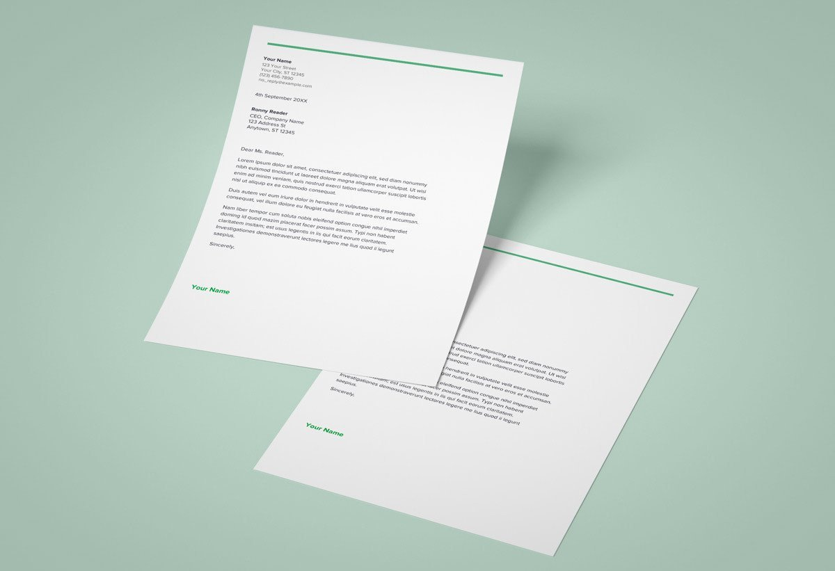 Google Docs Cover Letter Template Google Docs Cover Letter Templates 9 Examples to Download now