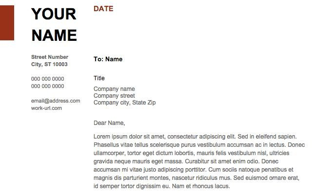 Google Docs Letter Template 24 Google Docs Templates that Will Make Your Life Easier