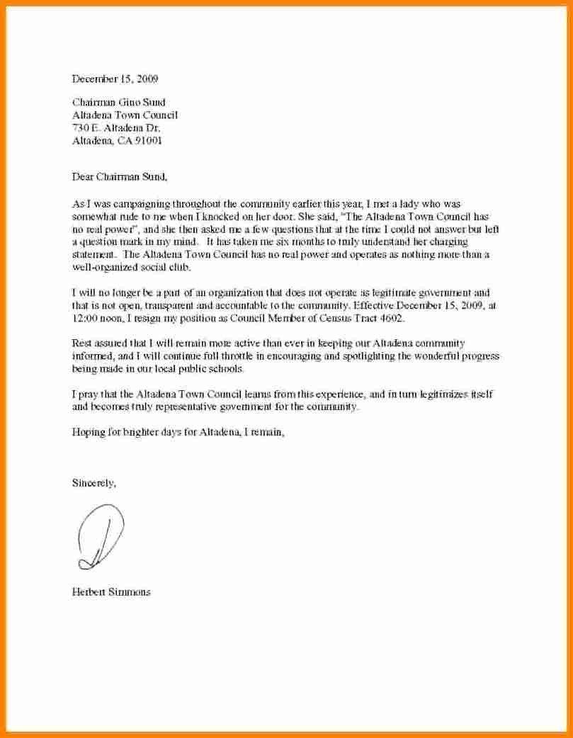 Google Docs Letter Template 7 Resignation Letter Template Google Docs