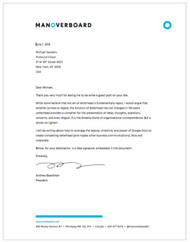 Google Docs Letter Template Creating Beautiful Letterhead In Google Docs
