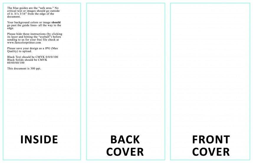 Google Docs Trifold Template 011 Template Ideas Tri Fold Brochure Google Slides From