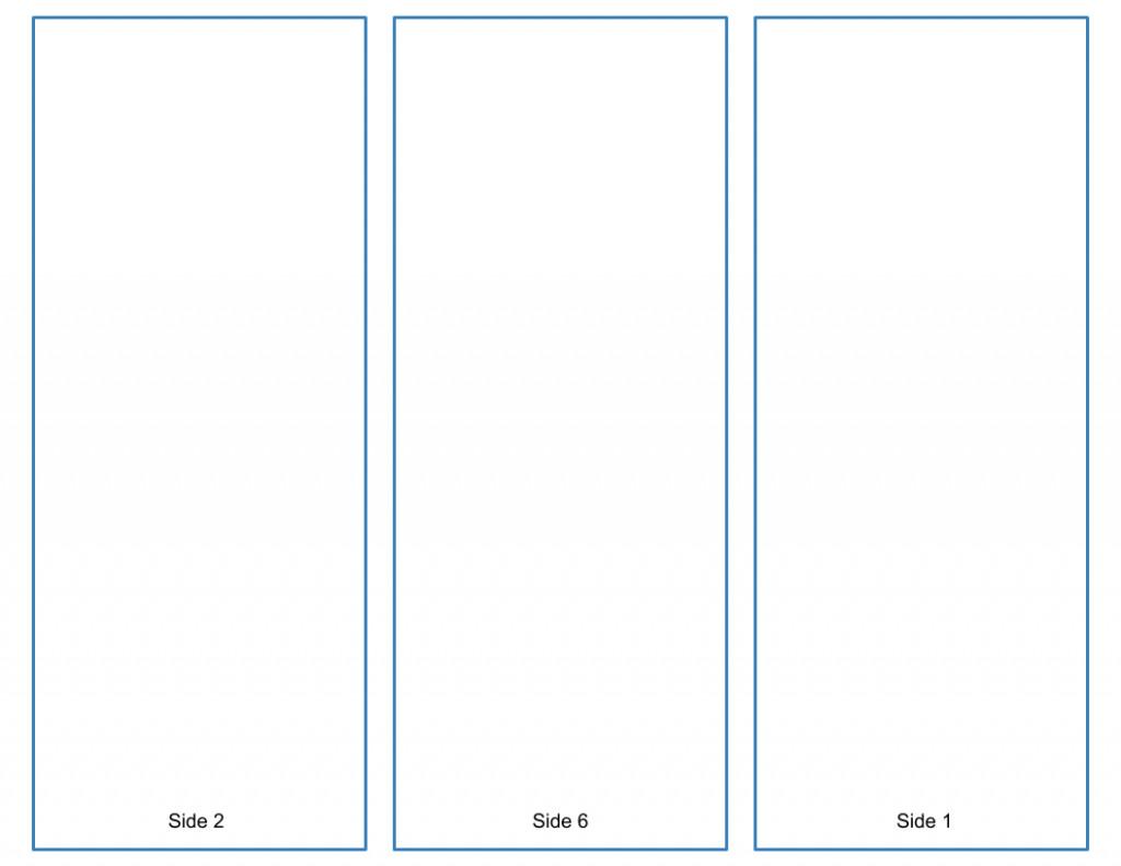 Google Docs Trifold Template Blank Tri Fold Brochure Template Google Slides Free Download