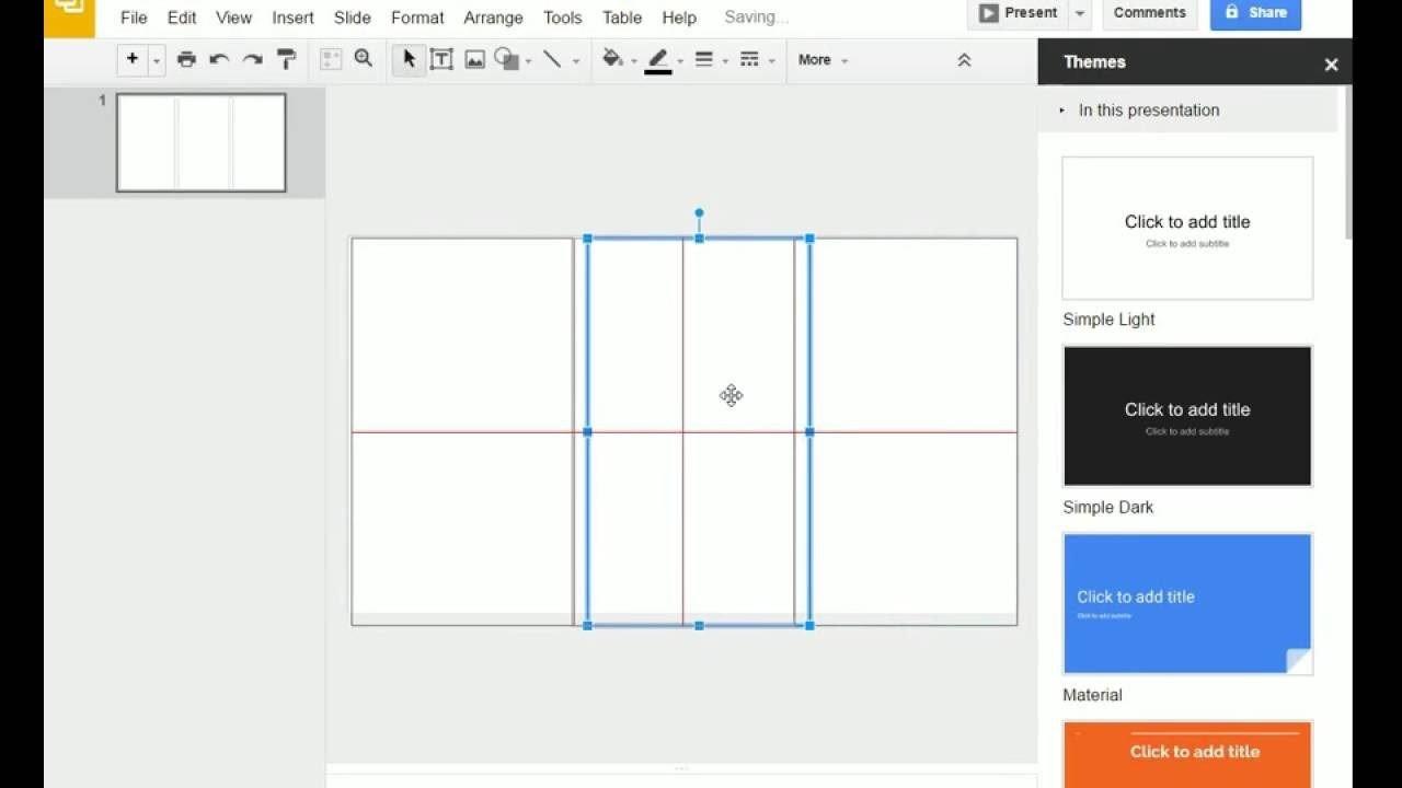 Google Docs Trifold Template Tri Fold Brochure Template for Google Slides