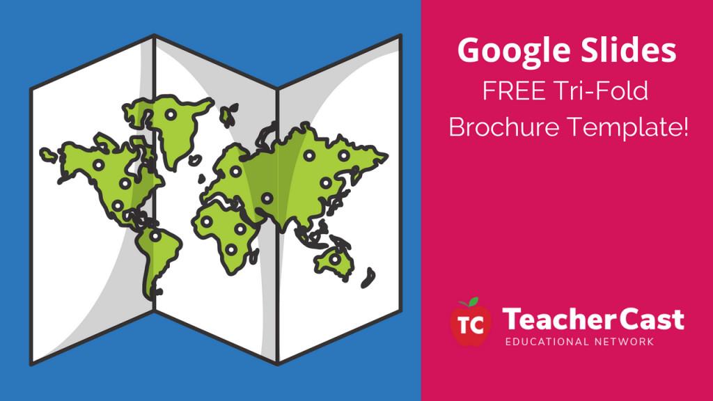 Google Slides Brochure Template Blank Tri Fold Brochure Template Google Slides Free Download