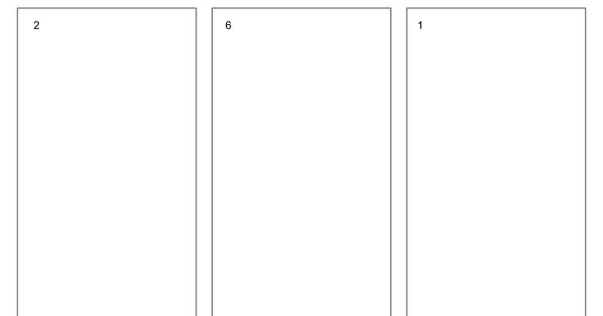 Google Slides Brochure Template Blank Trifold Brochure Template for Google Slides Google