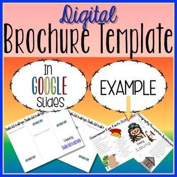 Google Slides Brochure Template Digital Brochure In Google Slides™