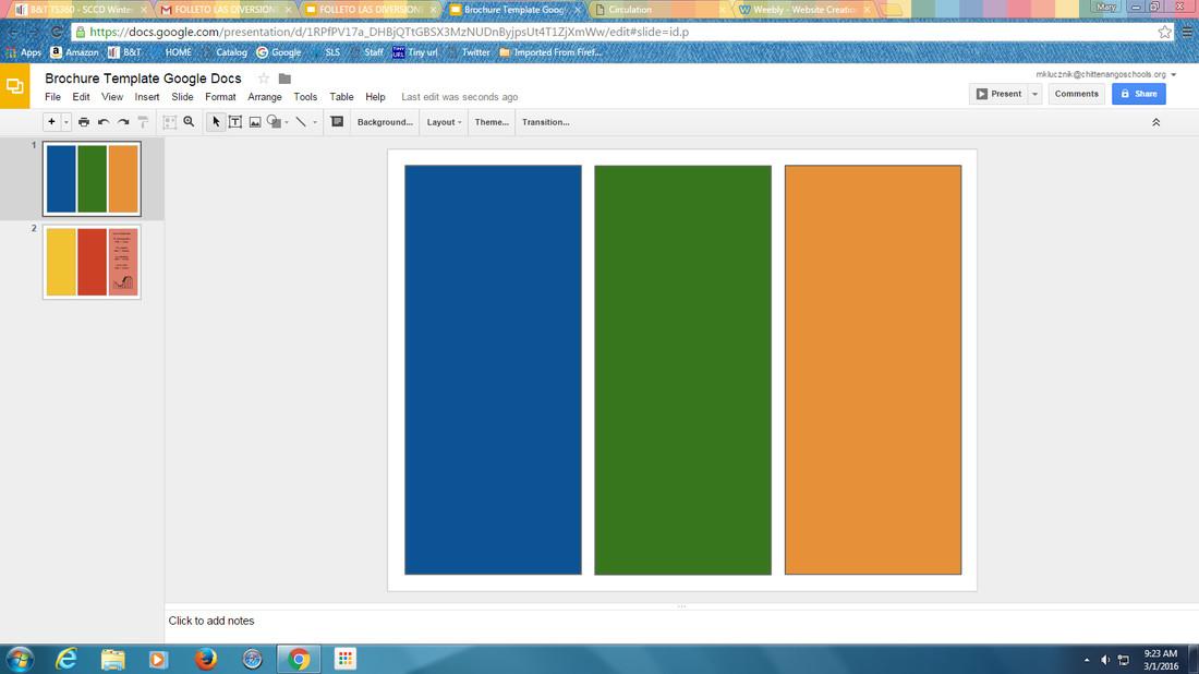 Google Slides Brochure Template Templates