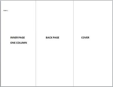 Google Slides Brochure Template Tri Fold Brochure Template for Google Slides