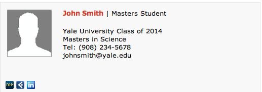 Grad Student Email Signature Masters Student