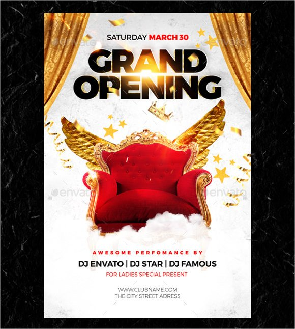 Grand Opening Flyer Template Free 28 Grand Opening Flyer Templates Psd Docs Pages Ai