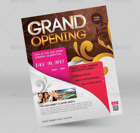Grand Opening Flyer Template Free 41 Grand Opening Flyer Template Free Psd Ai Vector