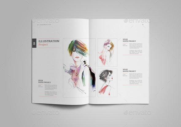 Graphic Design Portfolio Template 25 Really Awesome Portfolio Brochure Templates – Bashooka