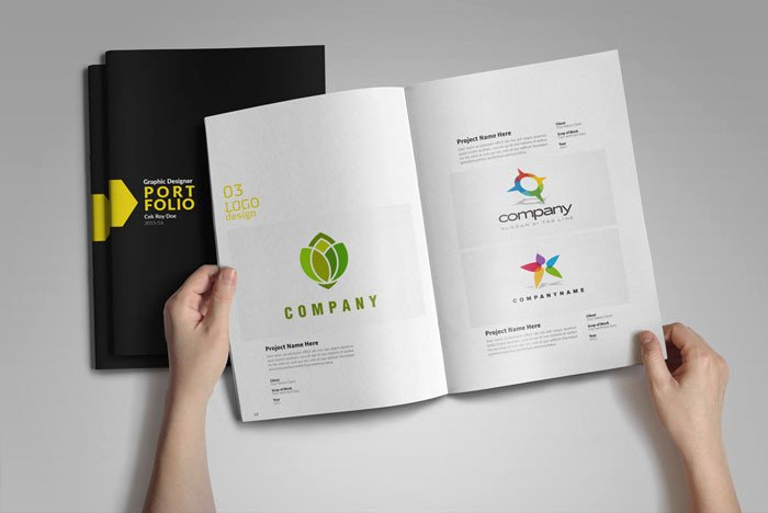 Graphic Design Portfolio Template 50 Free Ai & Psd Graphic Design Template Resources for