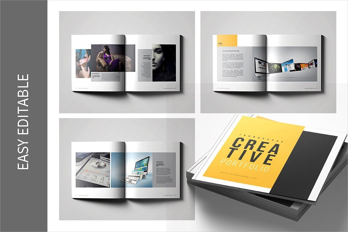 Graphic Design Portfolio Template 9 Graphic Design Portfolio Examples Editable Psd Ai