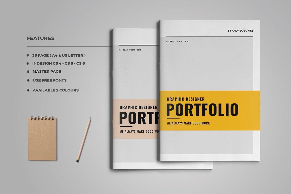 Graphic Design Portfolio Template Graphic Design Portfolio Brochure Templates Creative
