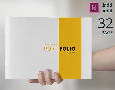 Graphic Design Portfolio Template Graphic Design Portfolio Template On Behance