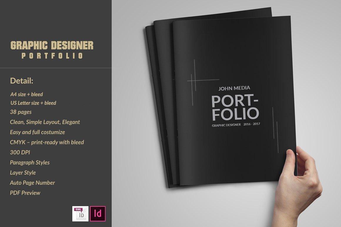 Graphic Design Portfolio Template Graphic Designer Portfolio Template Brochure Templates