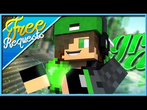 Green Channel Art Minecraft Channel Art [free Request] 95 Green Apple