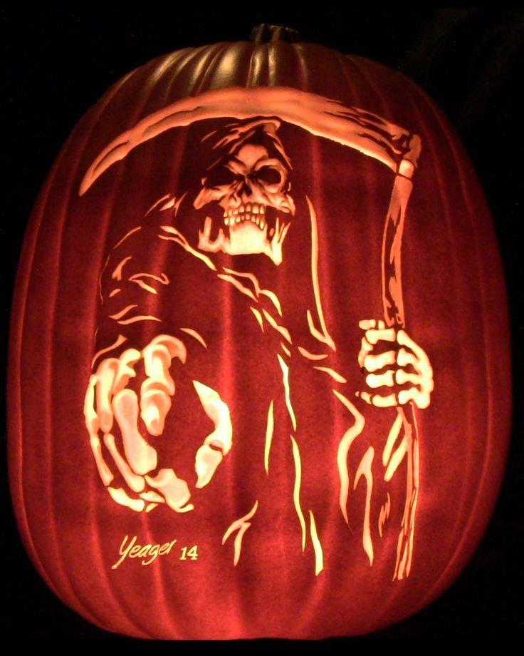 Grim Reaper Pumpkin Pattern Grim Reaper Pumpkin Pumpkins I Ve Carved