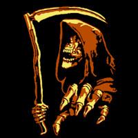 Grim Reaper Pumpkin Pattern Grim Reaper Stoneykins
