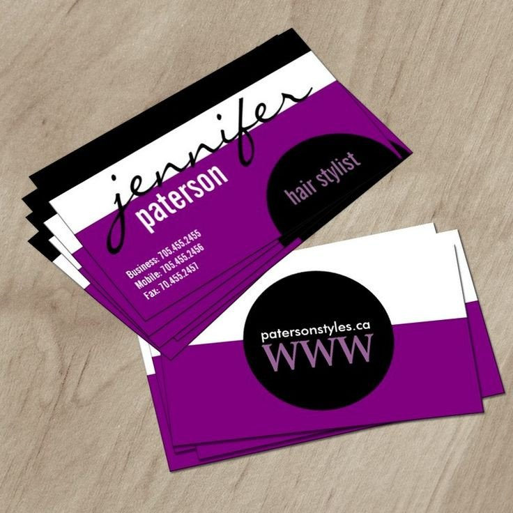 17 Best images about Hair Salon Business Card Templates on