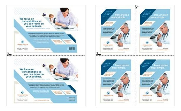 Half Sheet Flyer Template Create Half Page Flyers & Quarter Page Flyers