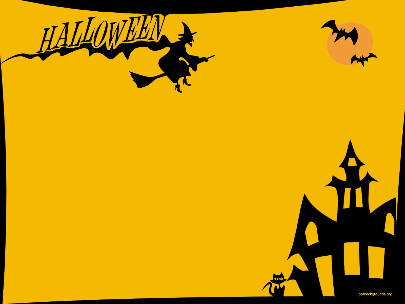 Halloween Backgrounds For PowerPoint – Festival Collections