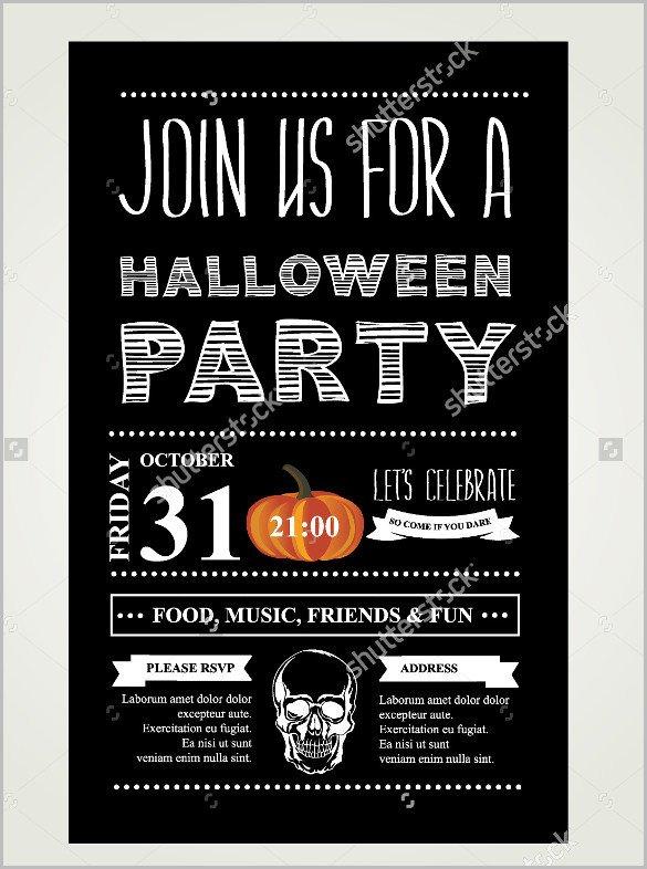 Halloween Templates for Word 35 Halloween Invitation Free Psd Vector Eps Ai